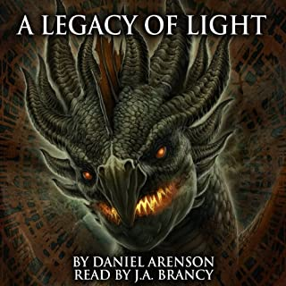 A Legacy of Light audiobook cover art