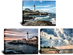 Measures 17 tall x 15.2 wide Choose Your Patina Color Metal Wall Art Home Decor Lighthouse