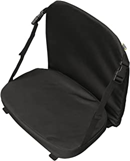 Pelican Boats - Premium Padded Canoe Seat – Universal Fit – PS0476-2 - Comfortable Seating with Back Support, Black