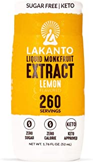 lakanto liquid monkfruit sweetener