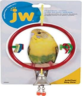 JW Pet Insight Ring Clear Bird Toy, Assorted, Small