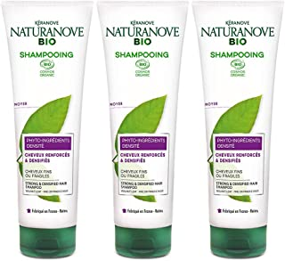 Kéranove 21036641 naturanove Bio Champú Bio densidad nogal para cabello finos o fragiles 250 ml –