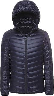 LANBAOSI Men's Hooded Packable Down Jacket Lightweight Puffer Coats