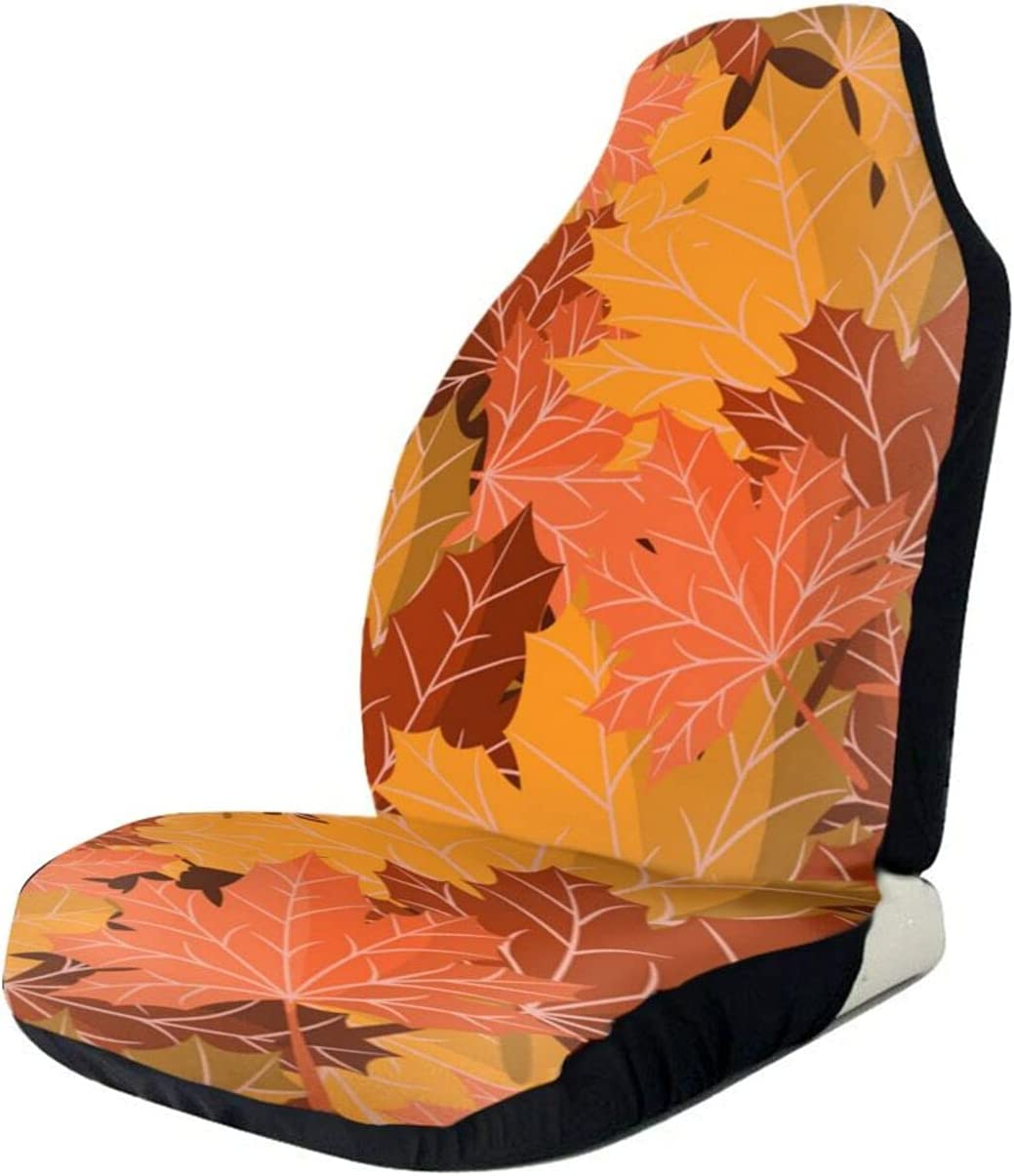 Max 55% OFF Seamless Autumn Leaves Grunge Car Seat Fu Cover Only Max 67% OFF Seats Front
