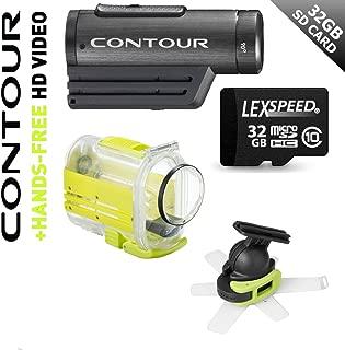 Contour ROAM Watersport Waterproof HD 1080P Wearable Action Sports Helmet Video Camcorder 170° Wide Lens (Black)