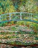 Kunstdruck/Poster: Claude Monet Japanische Brücke -