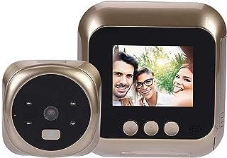 Smart Video Deurbel, 2,4-Inch Scherm HD-Display Met Slimme Visie Deurcamera, Gebruikt Voor Huisbeveiliging