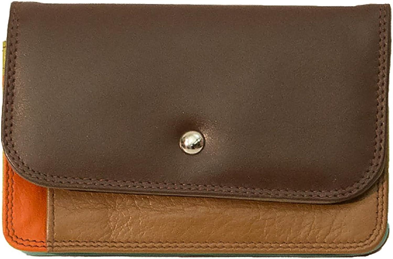 ILI 7871 Tribal Combination Leather Mini Wallet