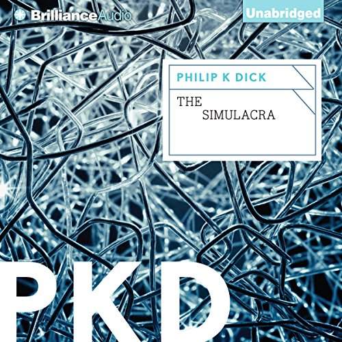 The Simulacra audiobook cover art