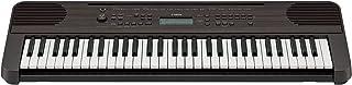 Yamaha PSR-E360 - Teclado digital portátil con 61 teclas sensibles a la pulsación para una mayor expresividad, color Negro (Nogal Oscuro)