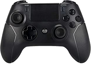 PS4 Controller Wireless Playstation 4 Controller - OUBANG Dualshock 4 Remote، 2019 PS4 Control for Playstation 4 (سیاه)