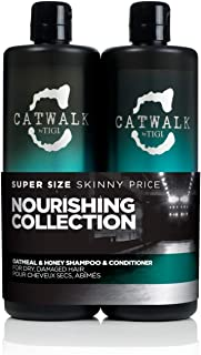 TIGI Catwalk Tween Duo - Oatmeal & Honey - Shampoo 750 ml + Conditioner 750 ml