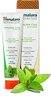 Himalaya Complete Care toothpaste - Simply Peppermint 5.29 oz/150 gm (1 Pack) Natural, Fluoride-Free & SLS-Free