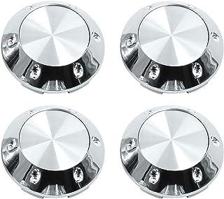 luluda 4pcs 56mm 5.6cm Car Wheel Center hub caps Aluminum Punisher Skull Logo Emblem Badge Sticker Tire Accessories car Styling Black