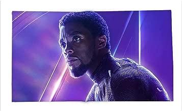 Yloveme Baby Blanket Black Panther tchalla Avengers Infinity war Chadwick boseman Custom Flannel Blankets