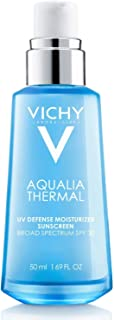 Vichy Aqualia Thermal UV Defense Face Moisturizer with SPF 30, Daily Sunscreen Moisturizer for 48-Hr Dynamic Hydration, Oi...