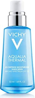 Vichy Aqualia Thermal UV Defense Face Moisturizer with SPF 30, Daily Sunscreen Moisturizer for 48-Hr Dynamic Hydration, Oil-Free, 1.69 Fl Oz