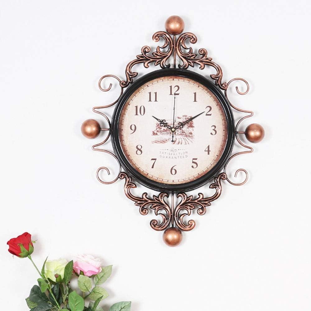 JYMBK It is very popular 2021 new Wall Clock American Roo Living Retro