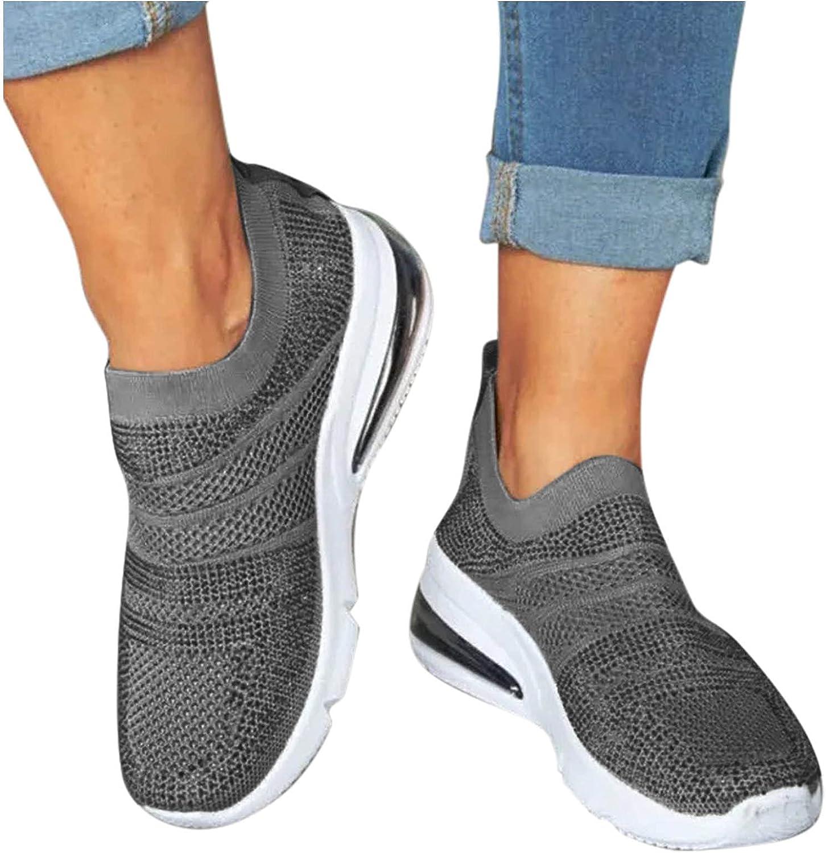 Kamendita Sneakers for Women Walking Shoes Women's Slip On Light