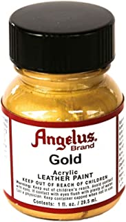 Angelus Acrylic Paints 1oz Color Gold
