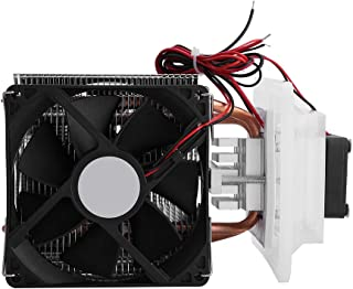 DIY Thermoelectric Peltier Refrigeration Cooler System Semiconductor 12V 6A Cooling System Cooler Fan Kit 72W
