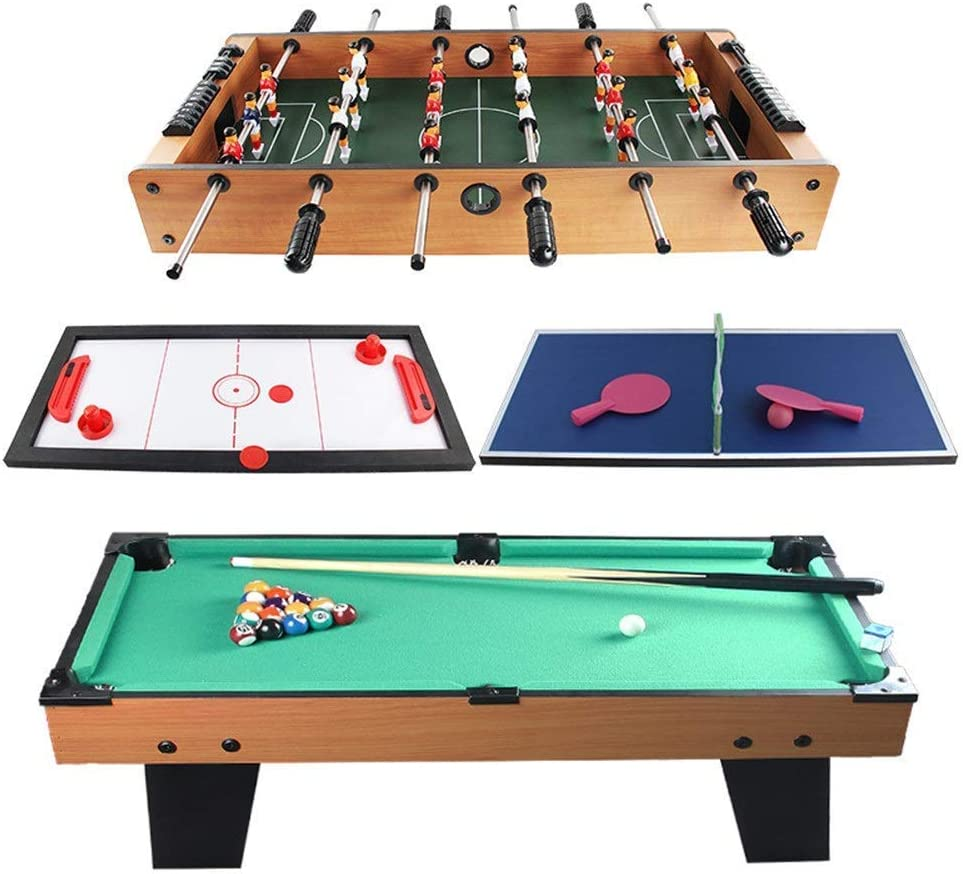 WWKA Home OFFicial Foosball Table Sports Combo Superlatite Games Billiard Game