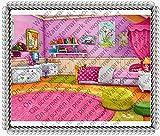 2' Cupcake (12 Per Sheet) - Doc Mcstuffins Background - Edible Cake or Cupcake Topper - D20012