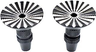 Apex RC Products Black Futaba/Spektrum DX5i DX6 DX6i DX7S DX8 DX9 / Taranis X9D Umbrella Transmitter Gimbal Sticks Ends #1715