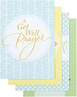 DaySpring Get Well - Inspirational Boxed Cards - Large Print - 53739