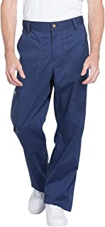 Essence DK160 Men's Drawstring Zip Fly Scrub Pant