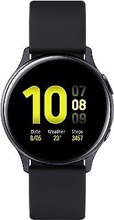 Samsung Galaxy Watch Active2, fitnesstracker van aluminium, groot display, duurzame accu, waterdicht, 40 mm, Bluetooth, zwart