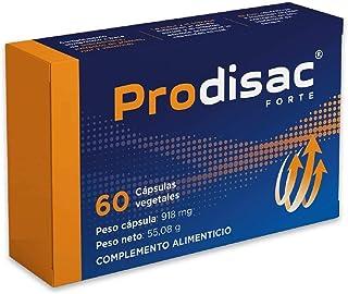 Prodisac ® Forte   Acción instantánea   Potenciador de Testosterona   Energía natural para hombres   60 cápsulas vegetales de alta concentración   Nº RGSEAA: 26.018330/M.