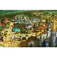 ドリームホーム - - ベストギフト木製1000ピースジグソーパズル - スタイル絵画ジグソーパズルタウン石油子供と大人のためのパズルゲーム