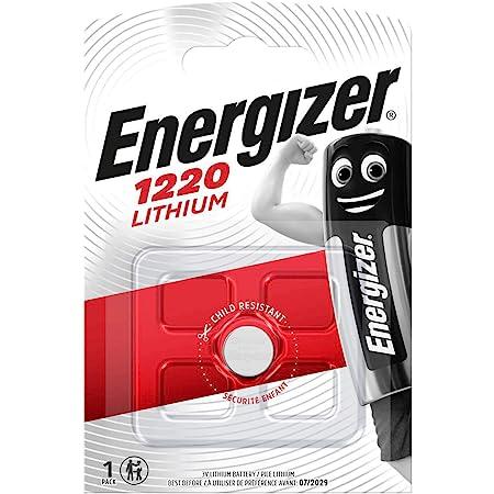 Energizer Lithium 3v Cr 1220 Knopfzelle Silber Elektronik