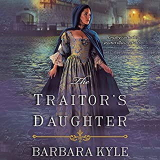 The Traitor's Daughter audiobook cover art