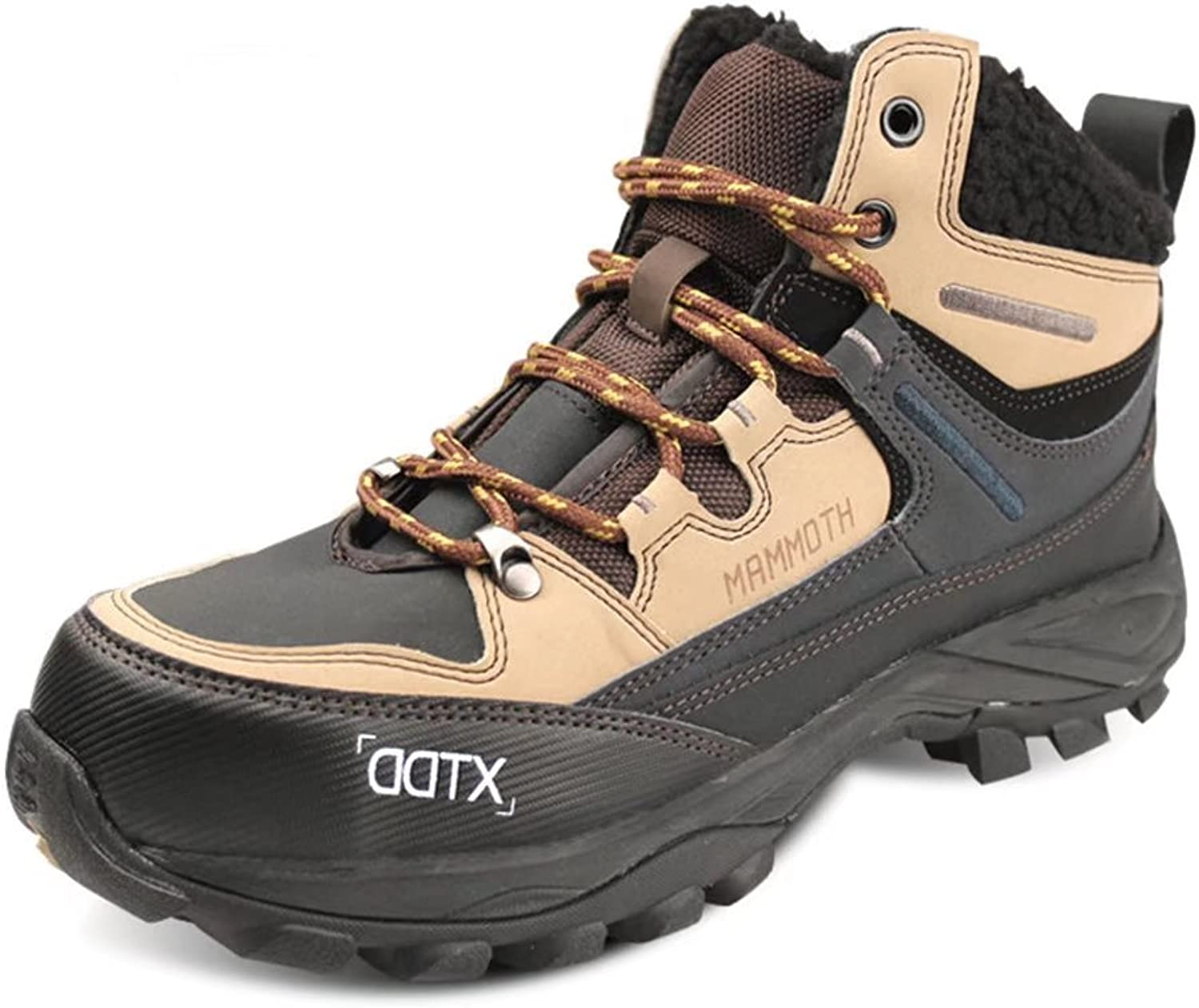 DDTX Unisex-Adults' Steel Toe Safety shoes and High Cut Winter Warm Safety Boots 6-9.5UK Brown