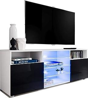 Amazon Fr Meuble Tv Haut