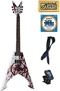 Dean Michael Amott Electric Guitar, Tyrant X Splatter, FREE Strap/Tuner/Strings ,MAS TYRANTX SPLT PK