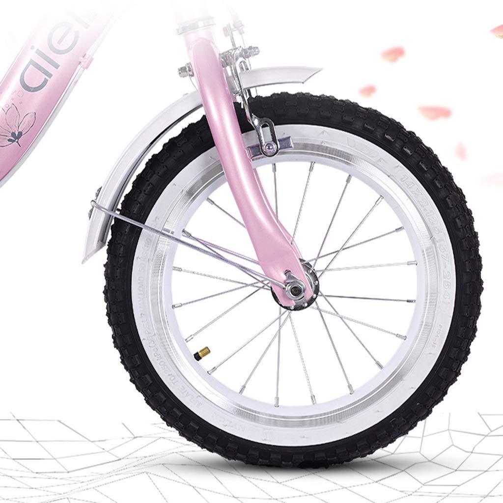 KOSGK Bicicletas Deluxe Bicicleta 2 A 10 AñOs Pedal Bebé Bicicleta NiñO NiñA Carro NiñO (Color: Azul, TamañO: 12 Pulgadas): Amazon.es: Hogar