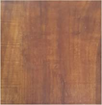 DVK FORTUNE Wooden PVC Vinyl Flooring 2mm Thickness(3ft ,6 Inch) 1.5 Sq Ft-Brown
