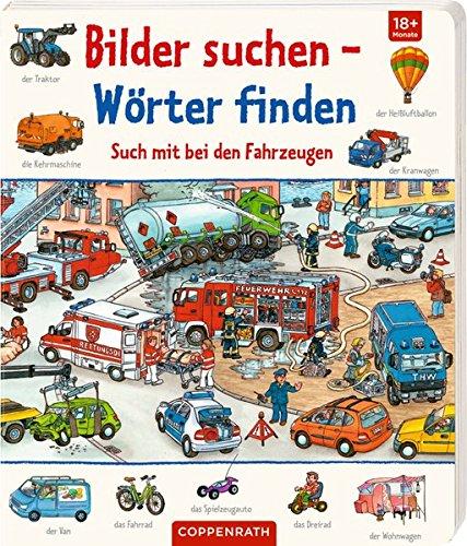 Such mit bei den Fahrzeugen (Bilder suchen - Wörter finden)