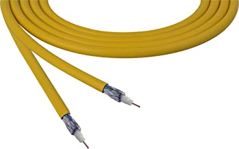 Belden 4855R 12G-Sdi 75 Ohm 4K Uhd Mini Coax Video Cable - Yellow - Per Foot