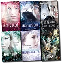 The Iron Fey Series Julie Kagawa Collection 6 Books Set (The Lost Traitor, The Lost Prince, The Iron Knight, The Iron King...