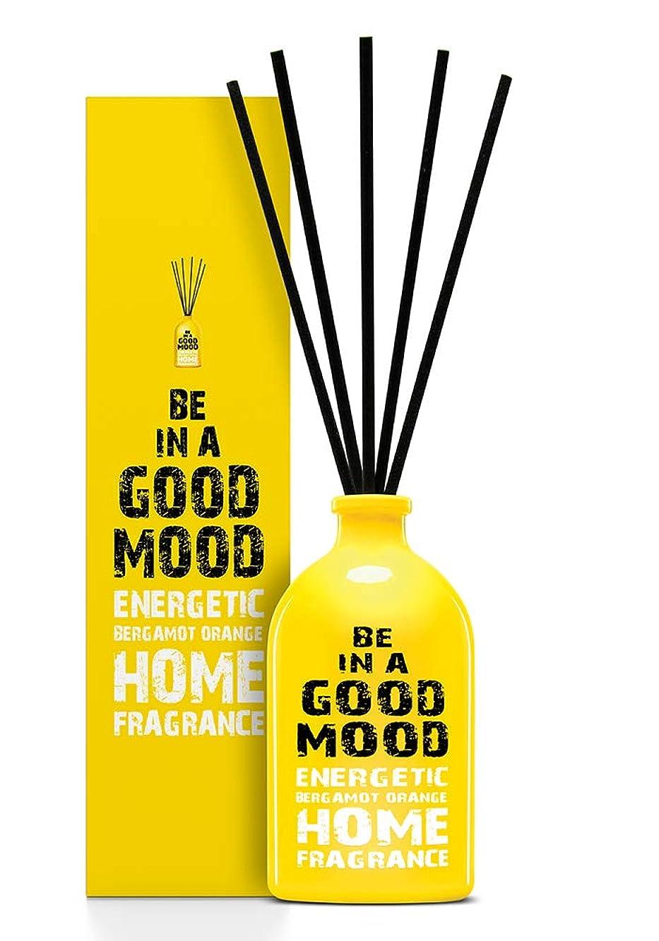 簡単な全体にコショウBE IN A GOOD MOOD ルームフレグランス スティック タイプ BERGAMOT ORANGEの香り (100ml)