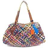 Fashion Leder Mode Damen Handtasche Leder Damentasche Schultertasche Hand bag Damentasche Tote Bag...