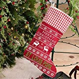 Christmas Tree Decorations 2019 St. Louis Park Christmas Stockings for Family Holiday Party Decor Gifts Rustic City State US Stockings Hanging Ornaments Candy Gift Bags for Xmas 18'
