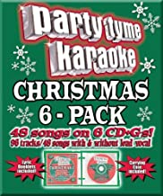 Party Tyme Christmas 6-Pack 48+48-song Party Pack