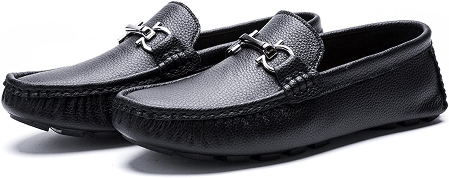 Suzanne vega Men's Casual Leisure Oxfords No-Slip Loafer Driving Moccasins shoes