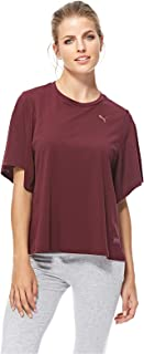 Puma FUSION Fashion Tee For Women, Size XL Wine