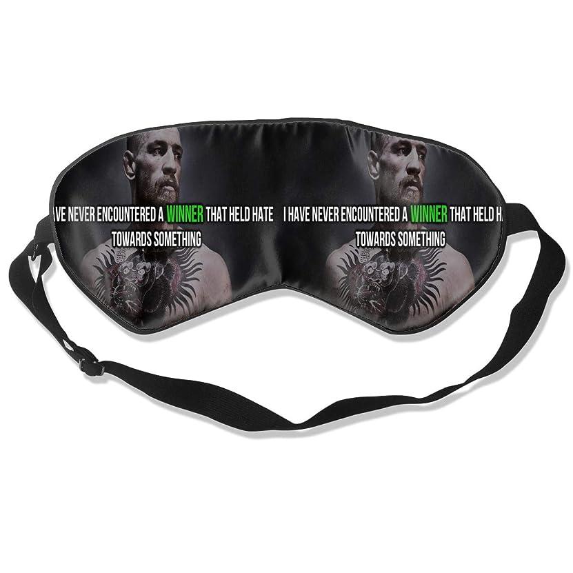 接ぎ木占める軽量アイマスク Conor McGregor 睡眠対策、いびき軽減、眠りと目の疲れ、スーパーソフト、超滑らかな絹のような通気性